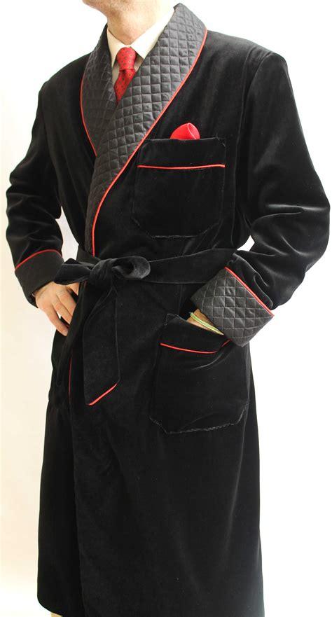 robe de chambre homme coton robe de chambre classique pour homme en velours de coton
