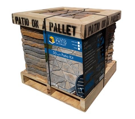 patio on a pallet comes in four colors albert