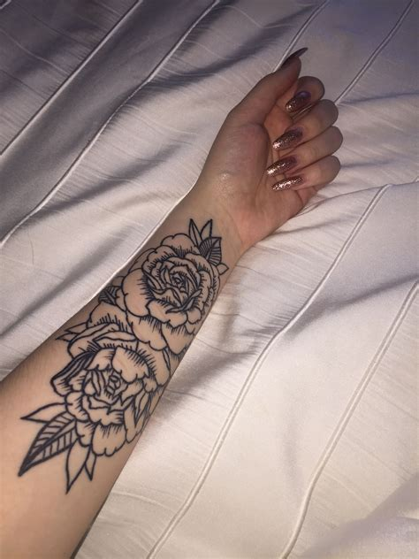 Small Flower Sleeve Tattoos