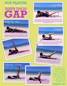 Day 24: POP Pilates thigh workout | julieupclose