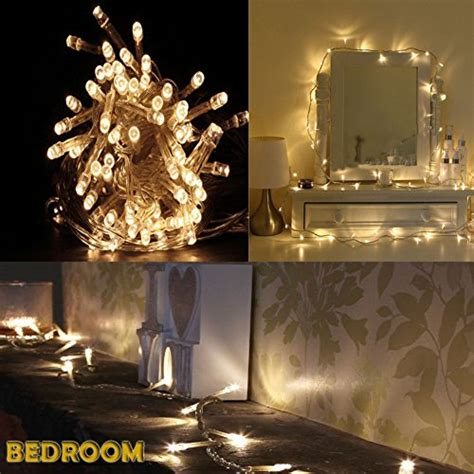 accmor led string lights for indoor and outdoor bedroom