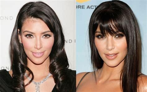 celebrities bangs   bangs hair styles