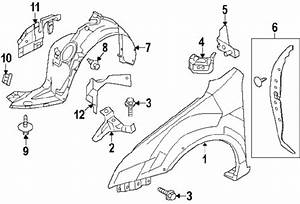 2012 Ford Fusion Parts - Ford Factory Parts