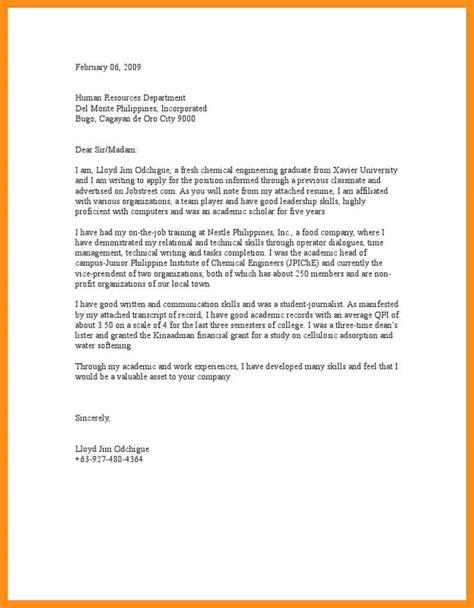 application letter for fresh graduate in nursing 28
