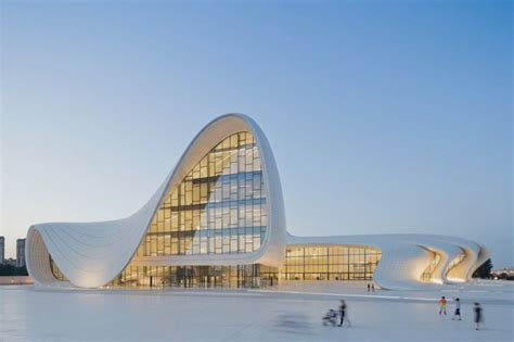 Beautiful Building Center By Zaha Hadid Architects