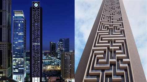 World's largest vertical maze unveiled in Dubai - The National
