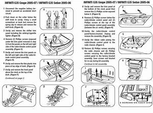 Infiniti G35 Coupe 2006 Wiring Diagram : 2005 infiniti g35 sedaninstallation instructions ~ A.2002-acura-tl-radio.info Haus und Dekorationen