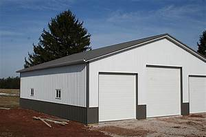 standard pole building customer projects june 2013 With 3 bay pole barn
