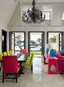 25, Ideas, For, Modern, Interior, Decorating, With, Bright, Neon