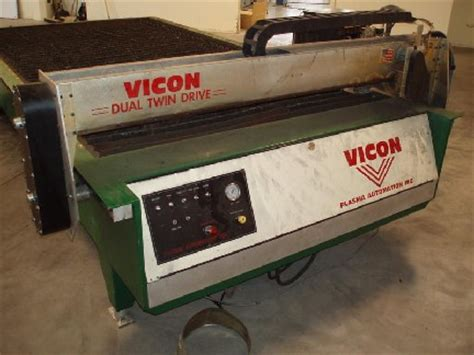 vicon hvac 8000 plasma cutting table plasma cutters machinematch