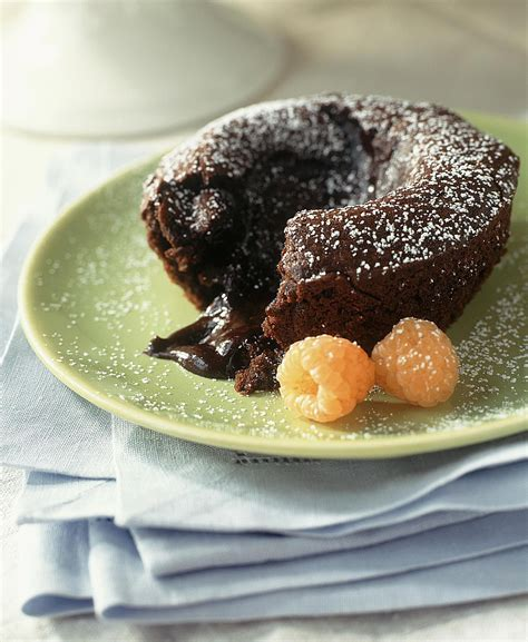 molten chocolate lava cakes recipe
