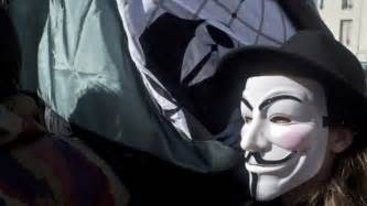 Hacker Group Anonymous Mask