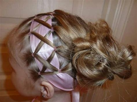 Easy & Creative Hairstyles For Little Girls