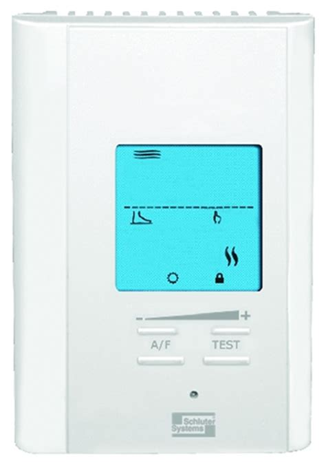 Ditra Floor Heat Thermostat by Schluter Ditra Heat Programmable Thermostat Stonetooling