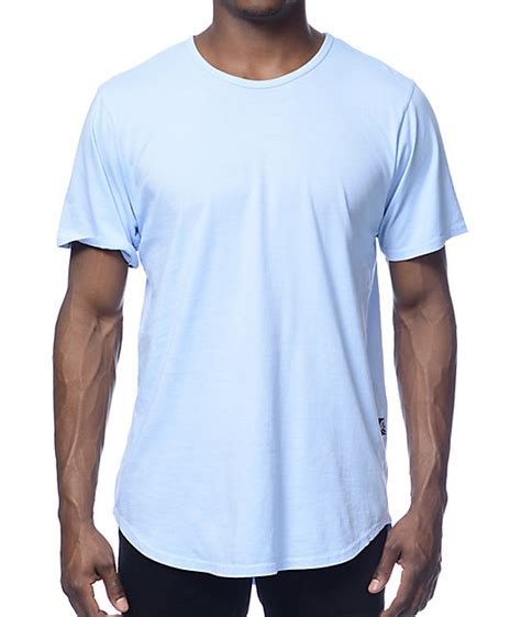 remain in light t shirt rustic dime long light blue t shirt