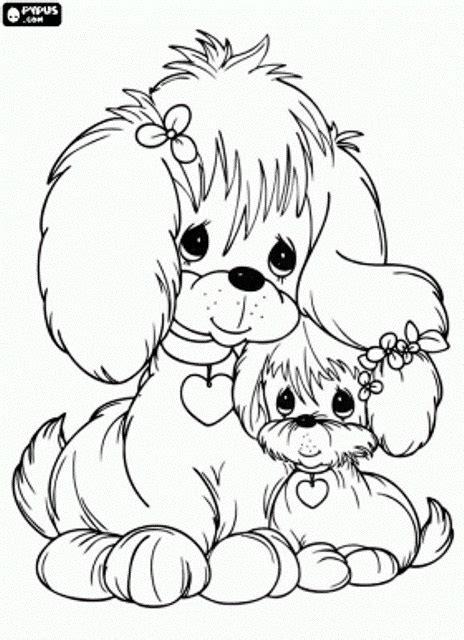 100 sketsa mewarnai gambar anak anjing lucu dan mudah
