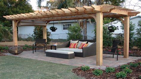 ideas for decorating a patio outdoor pergola designs