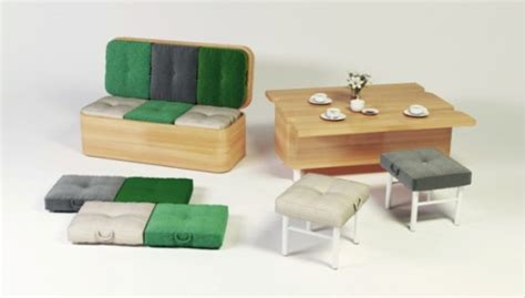 Convertible Sofa Table by Convertible Sofa That Changes Into A Dining Table Digsdigs