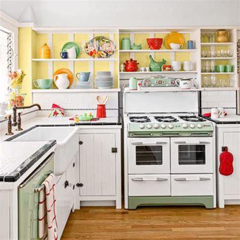 retro kitchen colors 25 inspiring retro kitchen designs house design and decor 1932