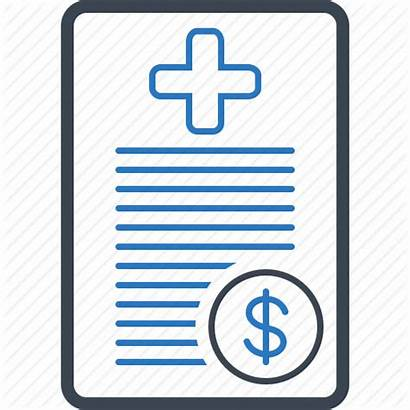Insurance Claim Icon Health Bill Medical Icons