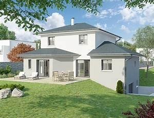 recherche modele de maison ma future maison With good modele de maison en l 7 de maison neuve moderne construction