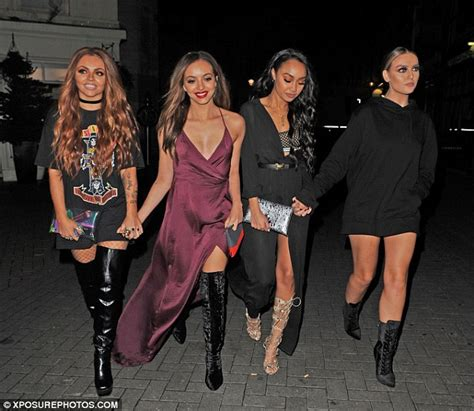 Glum Jesy Nelson hits the town with Little Mix after Jake ...