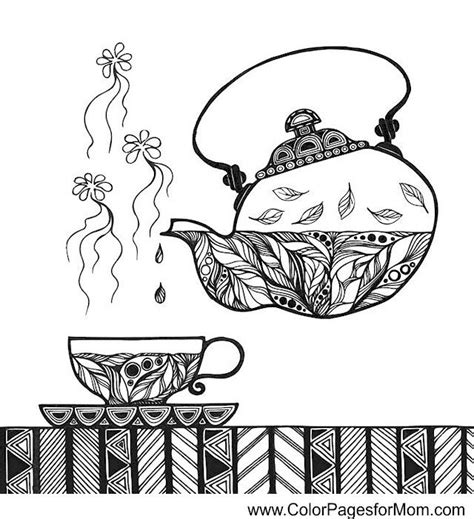 """Coloring pages are all the rage these days. coffee coloring page 34 