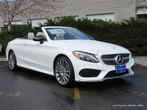 The w205 was preceded by the w204. 2017 Mercedes-Benz C-Class C 300 4MATIC AWD C 300 4MATIC 2dr Convertible for Sale in Boise ...