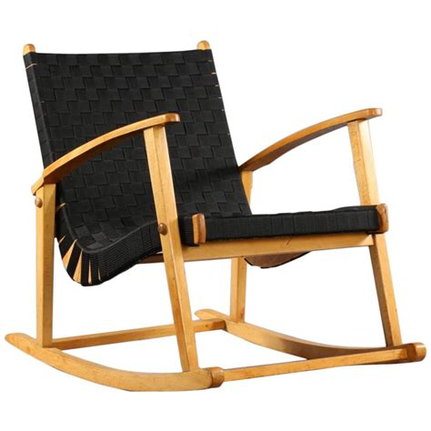 most comfortable rocking chair comfortable rocking chair attributed to jens risom 1950 for sale at 1stdibs