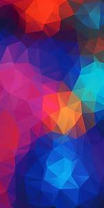 Abstract, Background, Of, Bright, Colored, Triangles, 3d