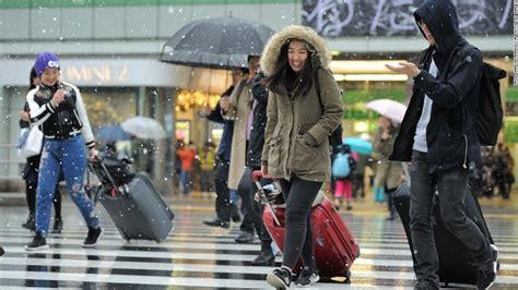โตเกียวหิมะตกเดือนพฤศจิกายน ครั้งแรกในรอบ 50 กว่าปี