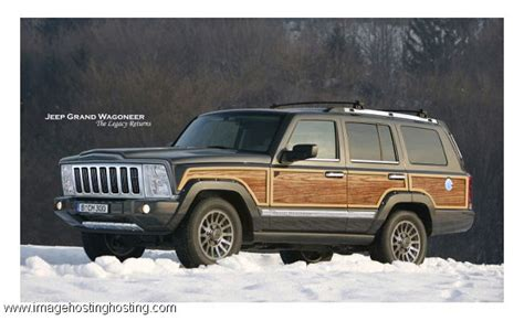 wood panel jeep cherokee the new 2015 jeep grand wagoneer complete with the wood