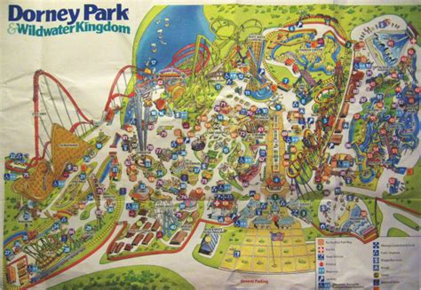 Theme Park Brochures Dorney Park - Theme Park Brochures