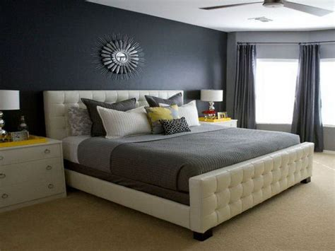 Schlafzimmer Wand Grau by Master Bedroom Shades Of Color Grey Decor