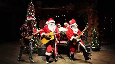 merry christmas from rockband china santa clause is back