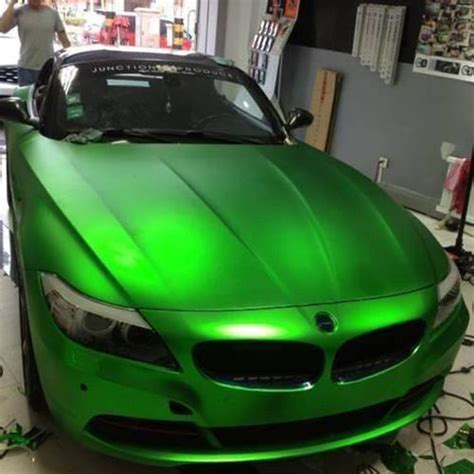 car wrapping folie 3d chrom matt metallic gr 220 n mit luftkan 228 len car wrapping