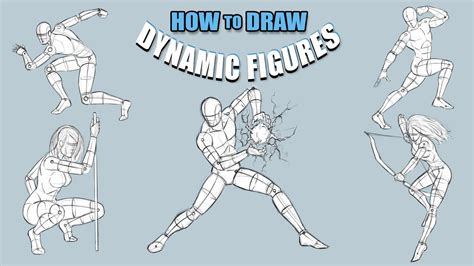 draw dynamic figures tutorial narrated youtube