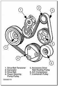 2004 Ford Taurus 3 0 V6 Serpentine Belt Diagram