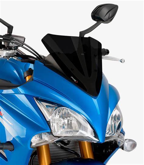 Suzuki Motorcycle Windshields by Suzuki Gsx S1000f Puig Racing Black Windshield 7639n