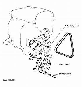 1994 Hyundai Sonata Serpentine Belt Routing And Timing