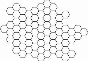 Honeycomb Outline Clip Art at Clker.com - vector clip art ...