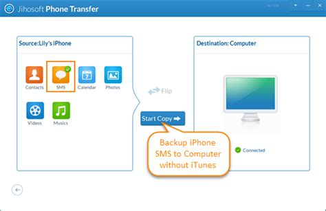 transfer to iphone without itunes free way to transfer backup text messages from iphone to