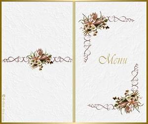 Modele De Menu A Imprimer Gratuit : menu ~ Melissatoandfro.com Idées de Décoration