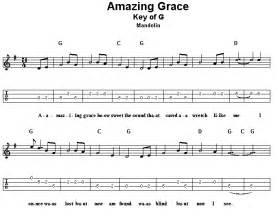Amazing Grace Mandolin Tab