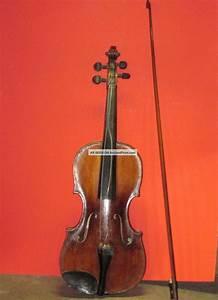 Antique Violin W   Bow Joannes Georgius Leeb Label  U0026 1826