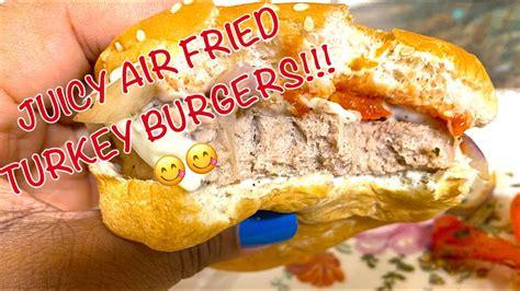 burgers frozen turkey air fryer cook