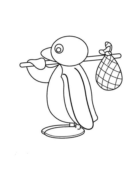 Pingu Kleurplaat by Kleurplaat Pingu 187 Animaatjes Nl