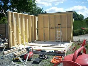 garage ossature bois artisan charpente menuiserie With construction garage en bois