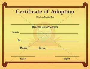 20 best adoption certificate templates images on pinterest With blank adoption certificate template