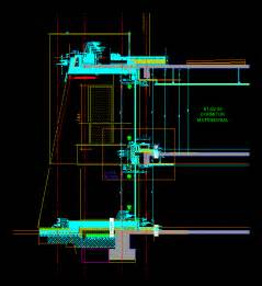 curtain wall dwg free download gettverse
